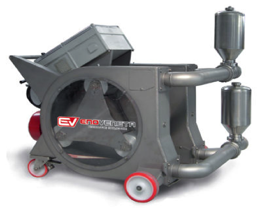 PEV-INOX 600 DOUBLE ROTOR WITH 3 ROLLERS